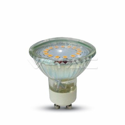 GU10 4.5W 24 SMD 5050 LED Light Bulb Warm White 120 degree.