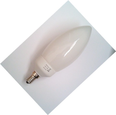 DAYLIGHT CANDLE 13W 6400K ENERGY SAVER LIGHT BULB (SES CAP)