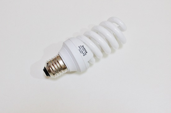 DAYLIGHT 18W 6500K SPIRAL ENERGY SAVER LIGHT BULB (ES CAP)
